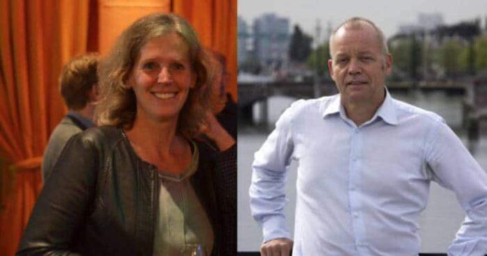 Arda Gillessen en Theo Dohle van communicatievereniging Welcom Amsterdam